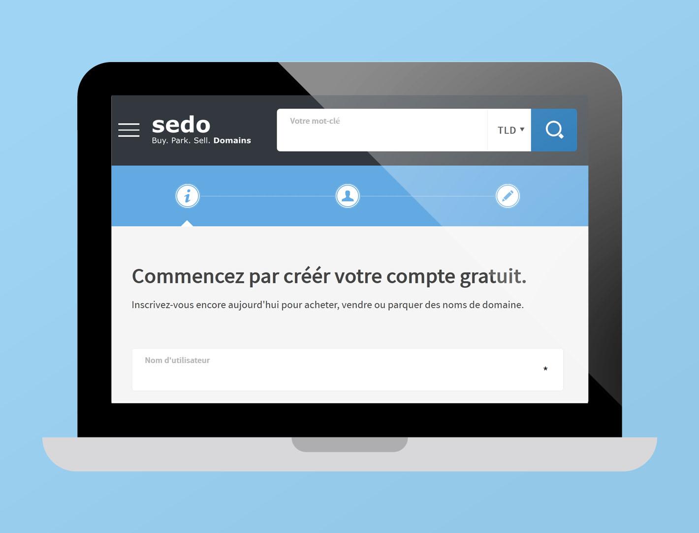 SEDO achat-vente domaines - WWW IMRITECHSEARCH COM