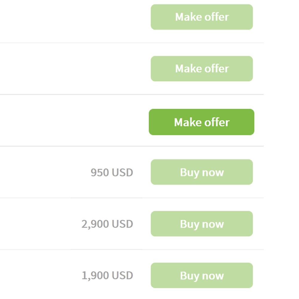 Screenshot Make Offer